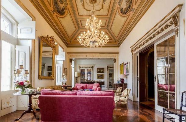 Palácio do século XVIII à venda em Lisboa por 8,3 milhões (fotos)