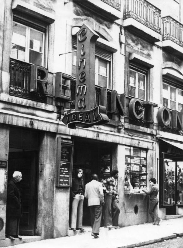 O Cinema Ideal na versão original (Foto: Arquivo Fotográfico Municipal de Lisboa)