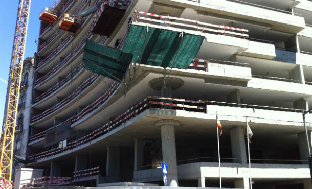Em 2012, construíram-se menos 50% de edifícios que há dez anos.
