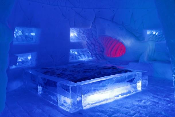 Snowvillage: Dormir rodeado de gelo no Canadá (fotos)