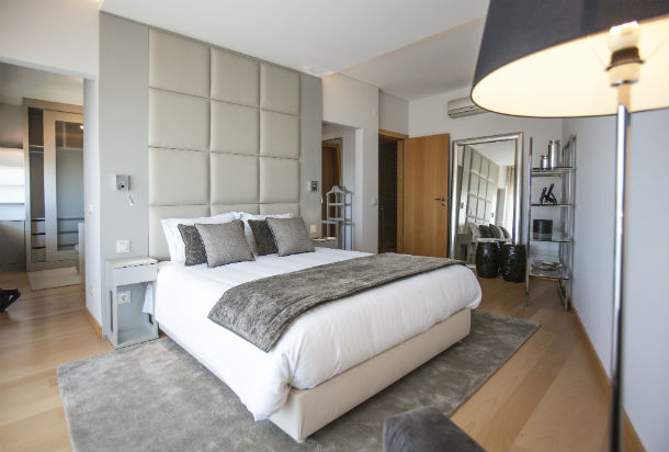 Como decorar e organizar quartos de casal fotos for Organizar casa minimalista
