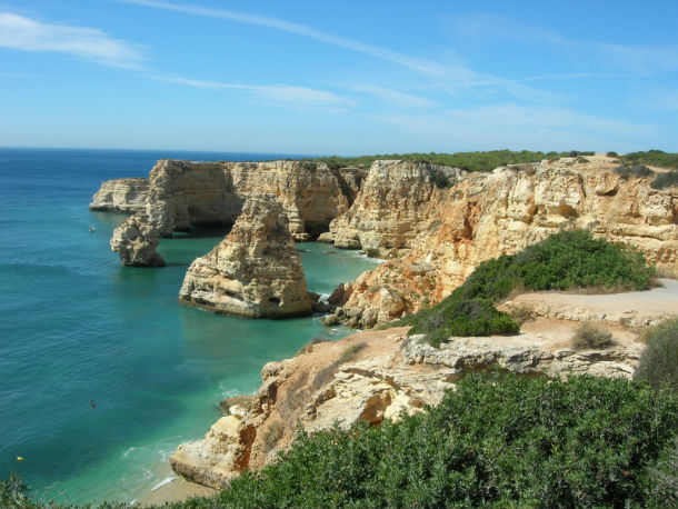 Franceses começam a mostrar interesse em conhecer o Algarve.