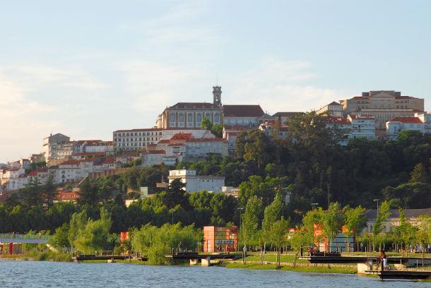 Vista geral de Coimbra.
