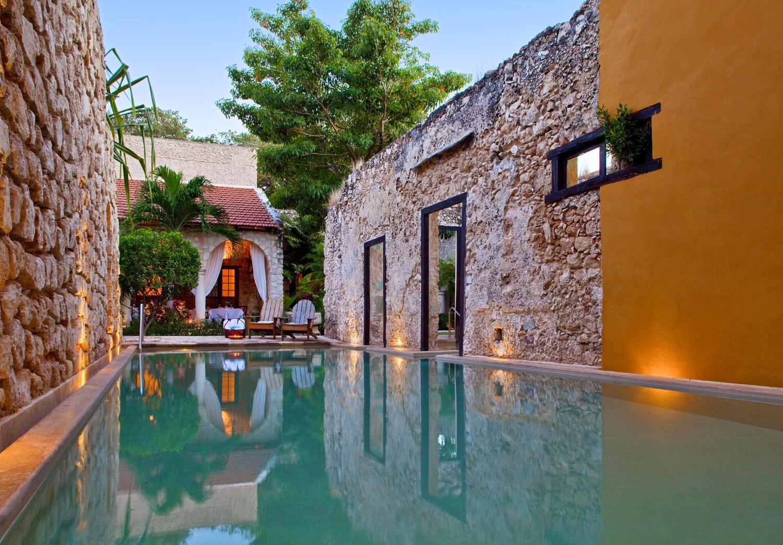 O hotel está localizado na província de Yucatán e tem 15 quartos.