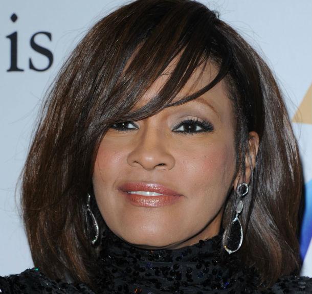 A cantona Whitney Houston faleceu em fevereiro de 2012