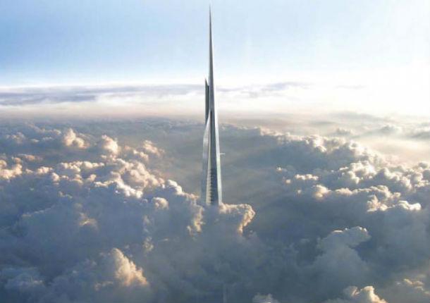 Serão necessárias mais de 80 mil toneladas de aço para construir a Kingdom Tower,