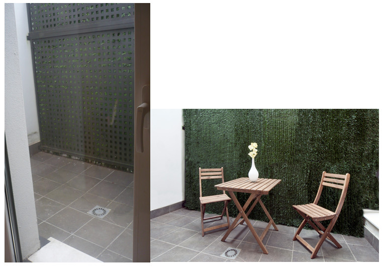 oasis mobiliario jardim:pátio ou varanda: uma varanda pode converter-se num oásis urbano