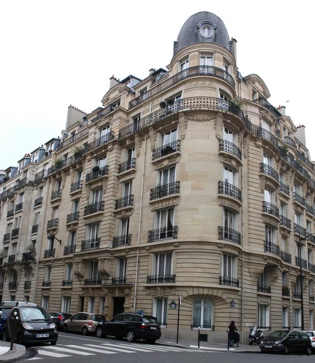A casa de Paris [fotografia tirada a 11 de janeiro de 2011 para o Expresso] /  FOTO ALBERTO FRIAS