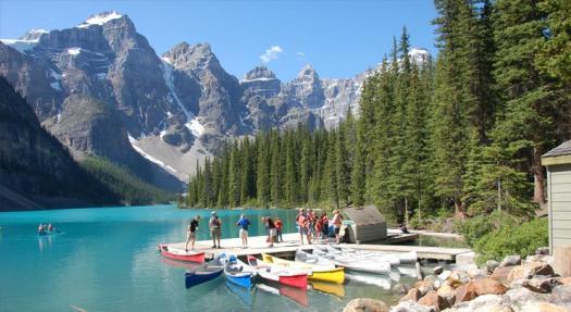 """Moraine Lake Lodge: Um """"oásis"""" rural para limpar a mente no Canadá (fotos)"""