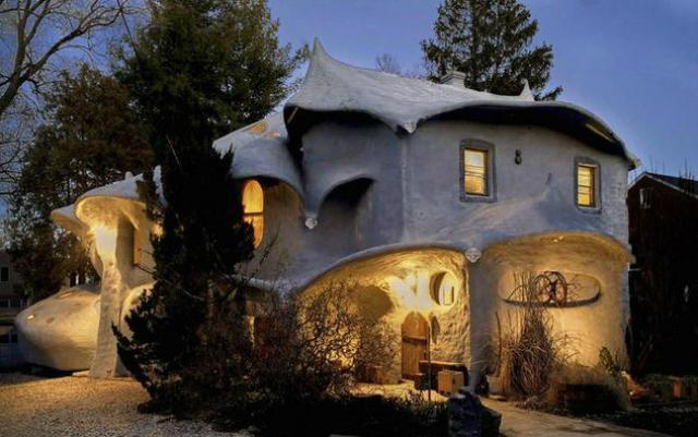 A casa dos Smurfs (Bethesda, Maryland) à venda por 1,2 milhões de dólares (um milhão de euros)