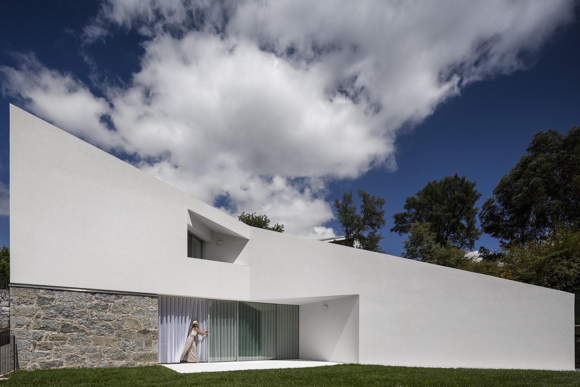Casas de sonho mans o de arquitetura moderna com for Casa moderna 2015 orari