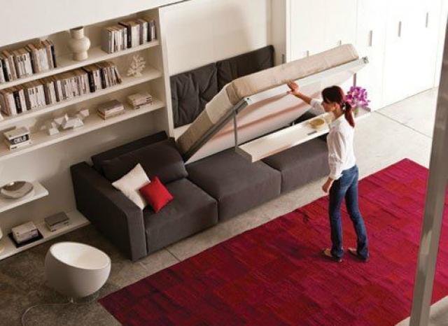 Ideias de decora o camas escondidas a melhor solu o for Camas ocultas en muebles