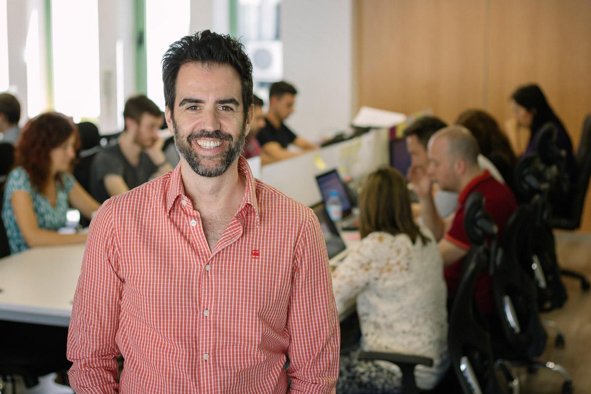 Pablo Rabanal, CEO e fundador do Reclamador