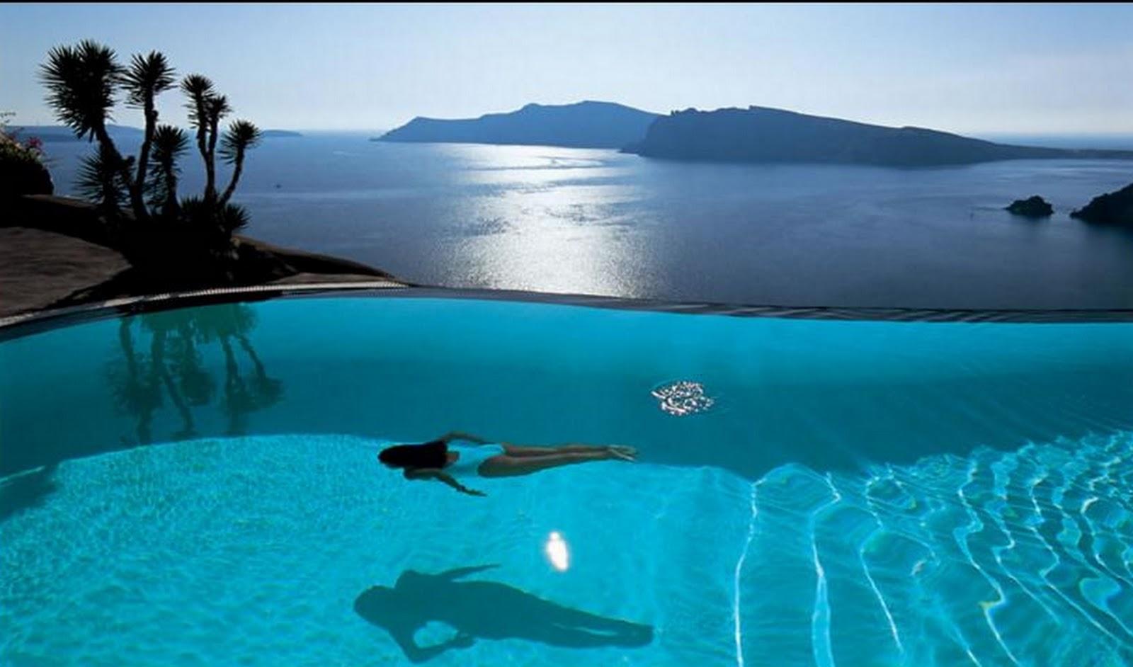 Hotel perivolas provavelmente a melhor piscina do mundo for Imagenes de piscinas bonitas