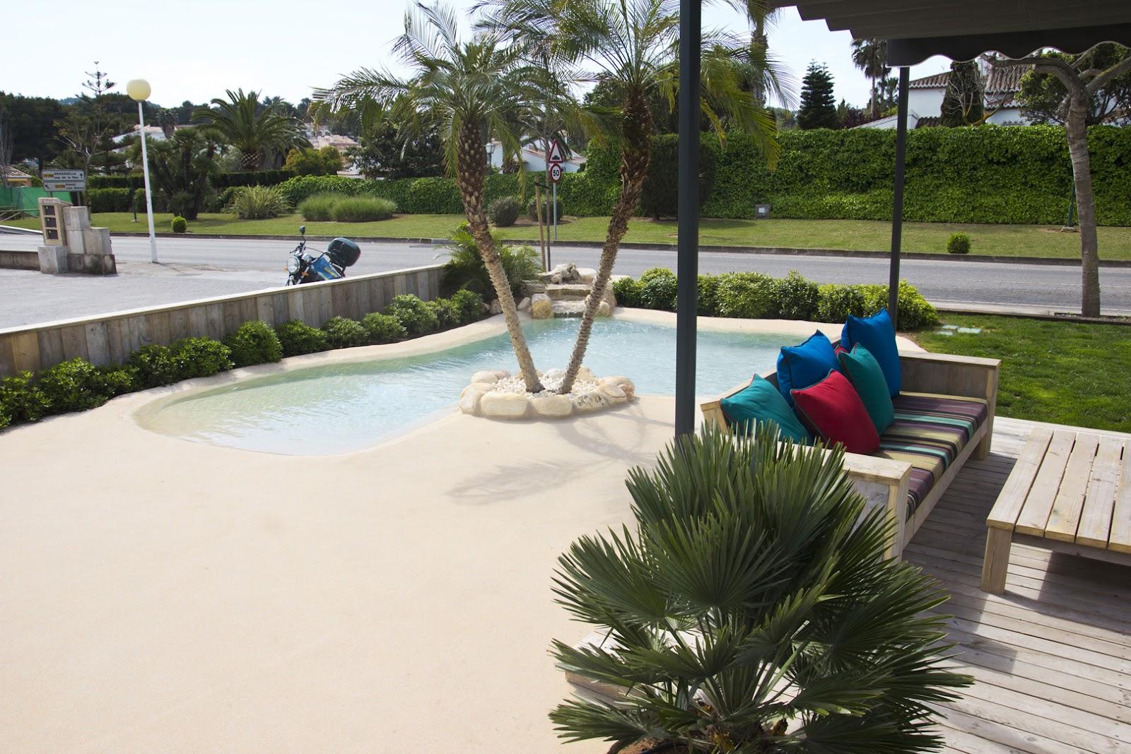 Ideias de decora o piscinas de areia ou como desfrutar - Piscinas con arena ...