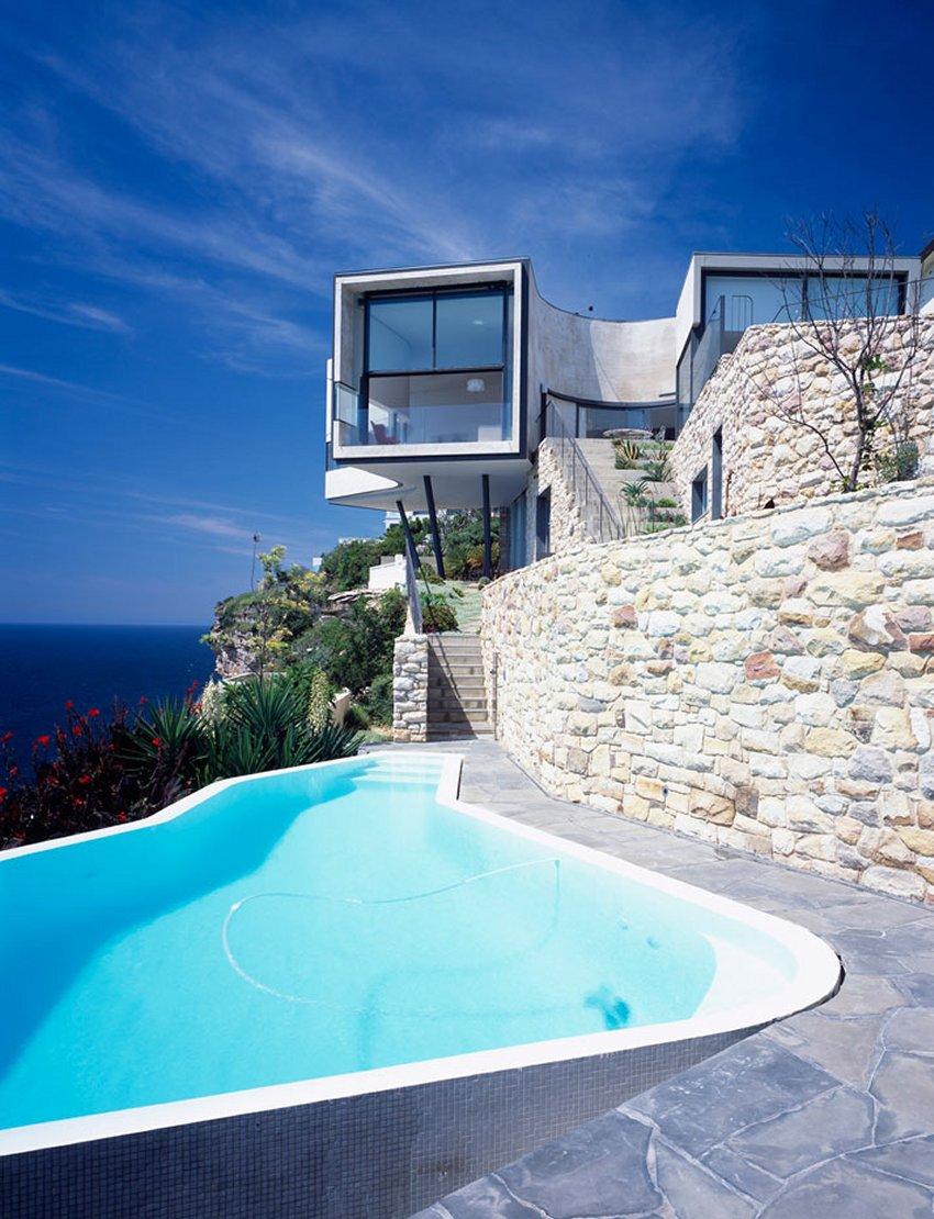 10 casas penduradas em penhascos impr prias para quem for Casas modernas idealista