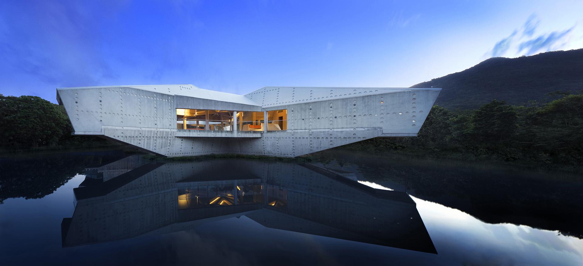 Espetacular casa futurista em Queensland (Austrália)
