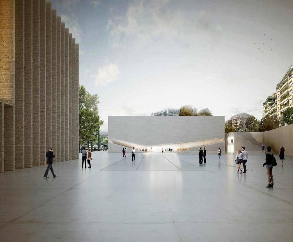 Projeto de novo pólo cultural dos Aires Mateus na Suíça, revelado pelo Público
