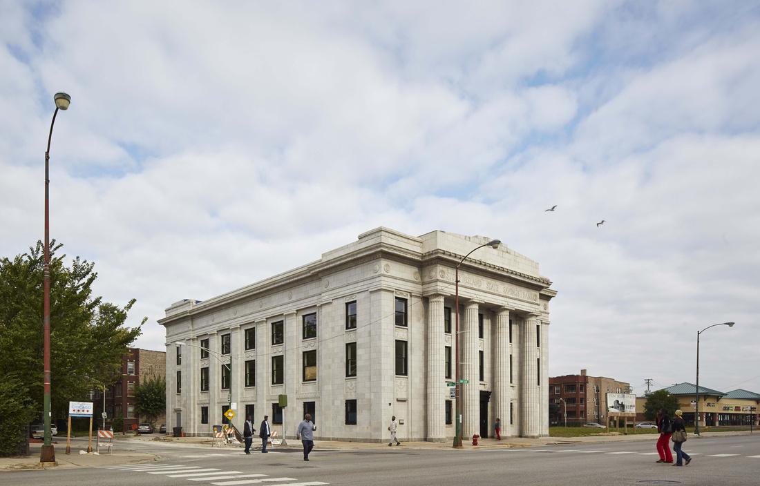 Tranformação do Stony Island Trust & Savings Bank de Chicago em centro comunitário e artístico