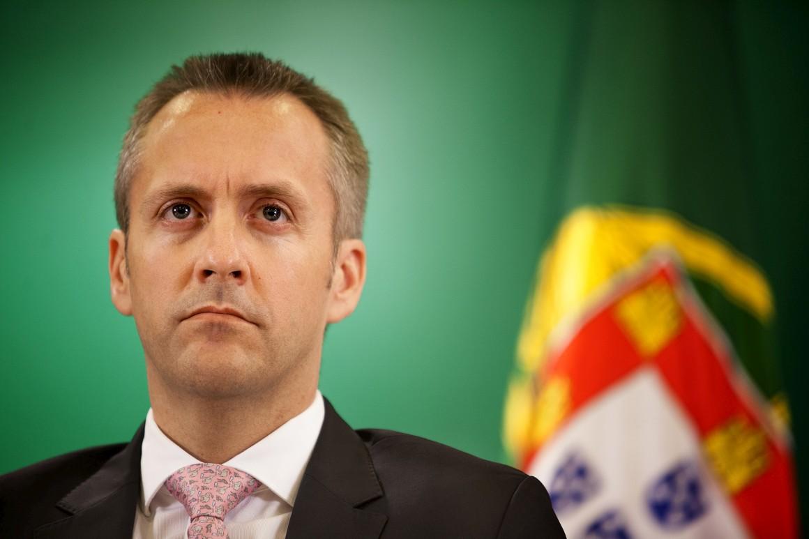 Sérgio Monteiro fotografado pelo Público