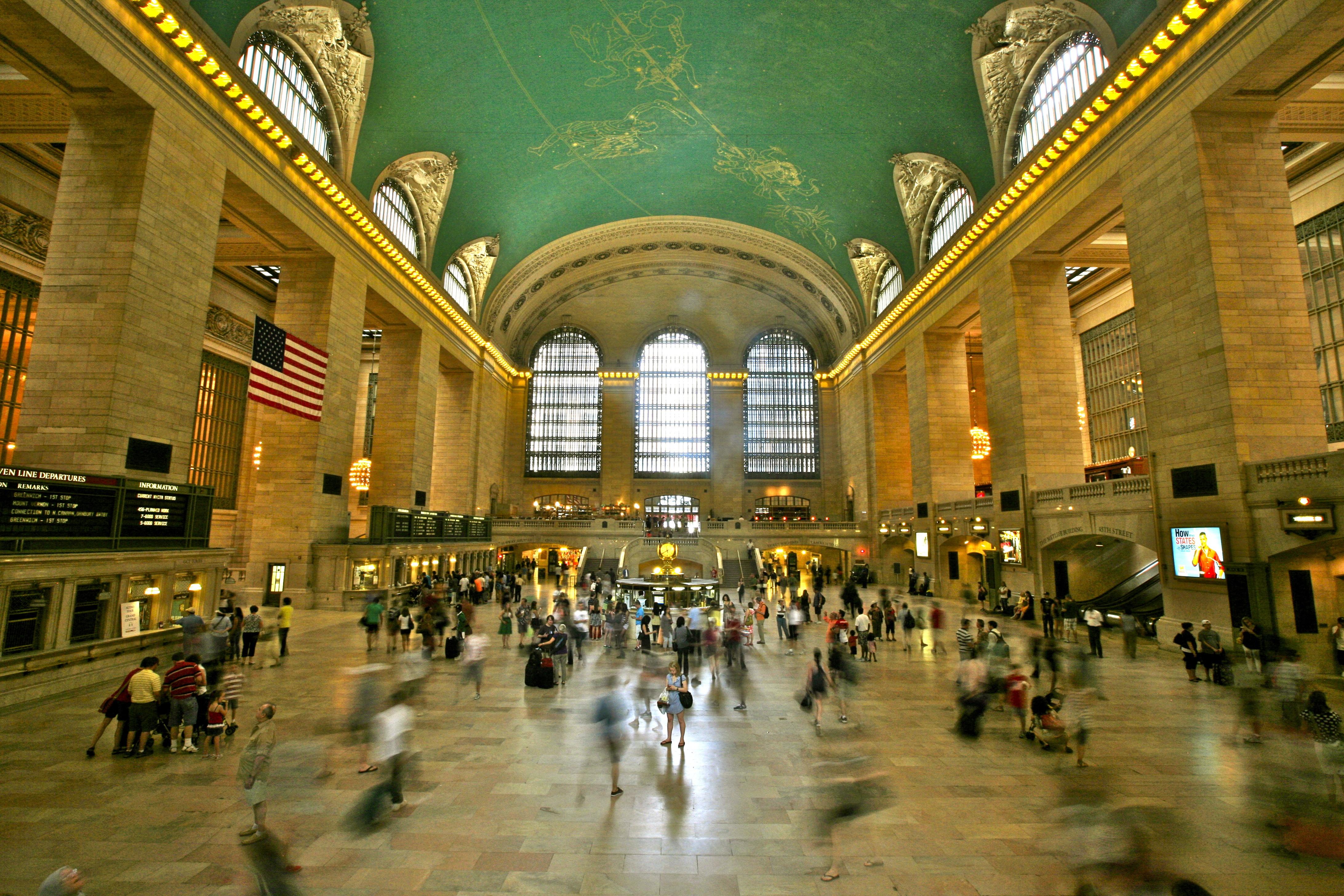 Grand Station Terminal em Nova Iorque, EUA