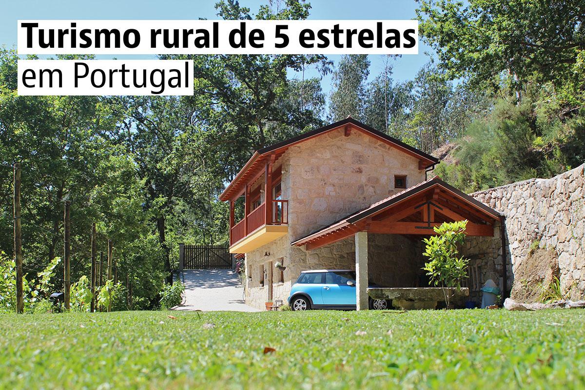 Quinta do Tapado João, uma pitoresca casa rural em Sever do Vouga (Aveiro)