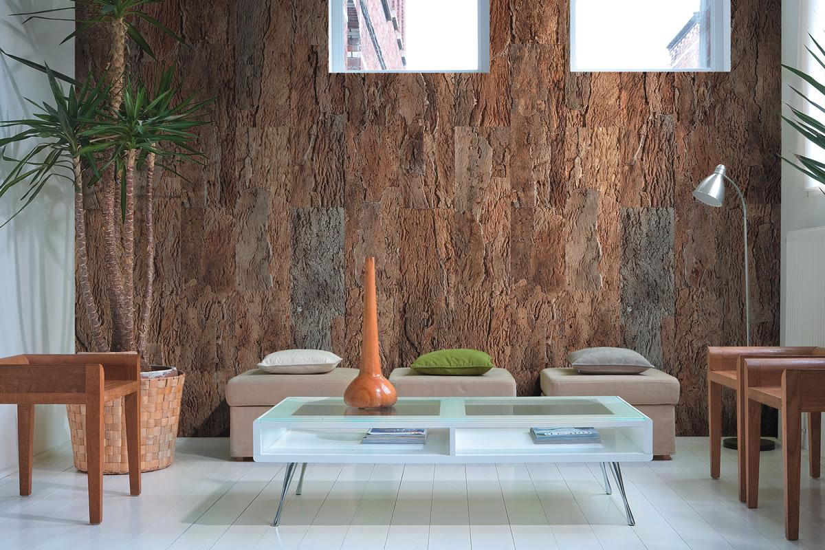 A cortiça é usada no isolamento e revestimento das casas, por exemplo (Foto: APCOR).