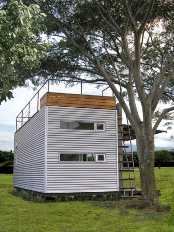 Viver numa moderna casa contentor de design idealista news for Casas modernas idealista