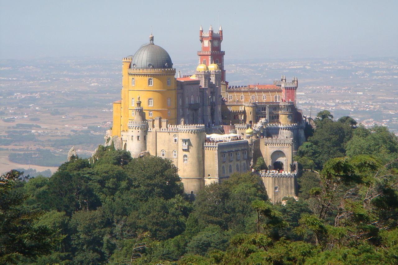 Palácio da Pena, em Sintra.