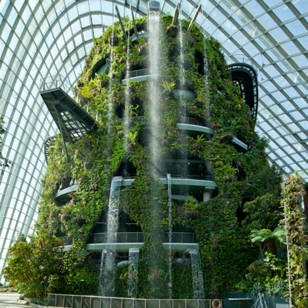 os 11 jardins verticais mais espetaculares do mundo