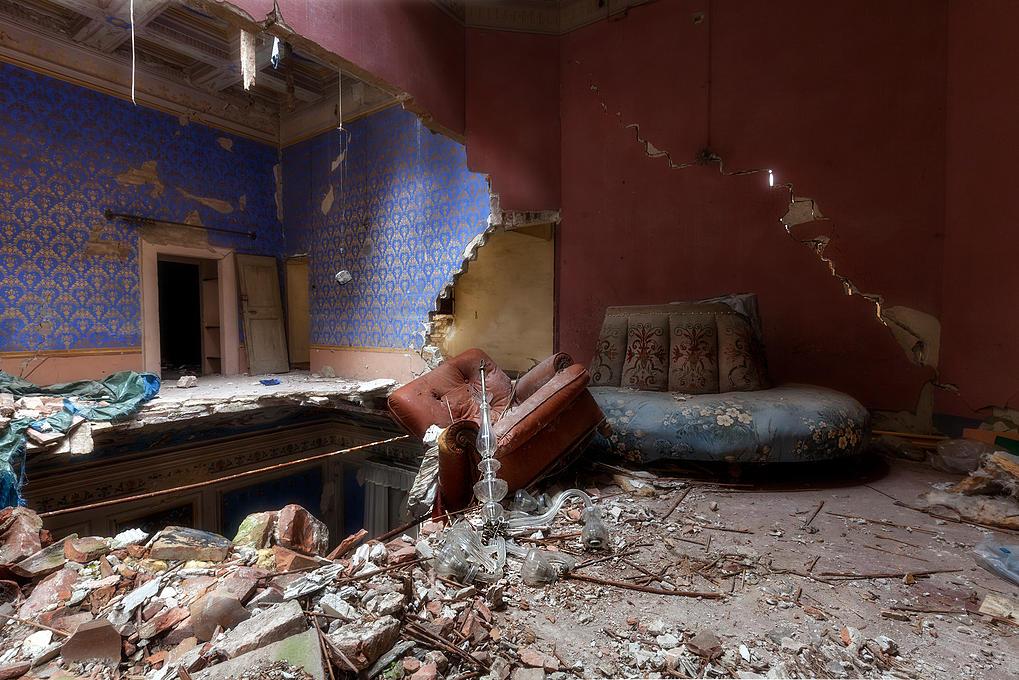 Assim se transformam casas abandonadas em obras de arte for Seminterrato di case abbandonate