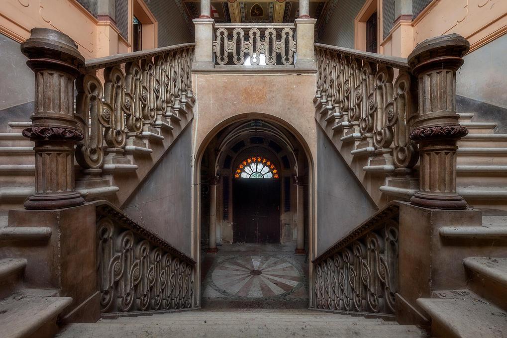 Mans es abandonadas entre a beleza e o terror idealista - Casas antiguas por dentro ...