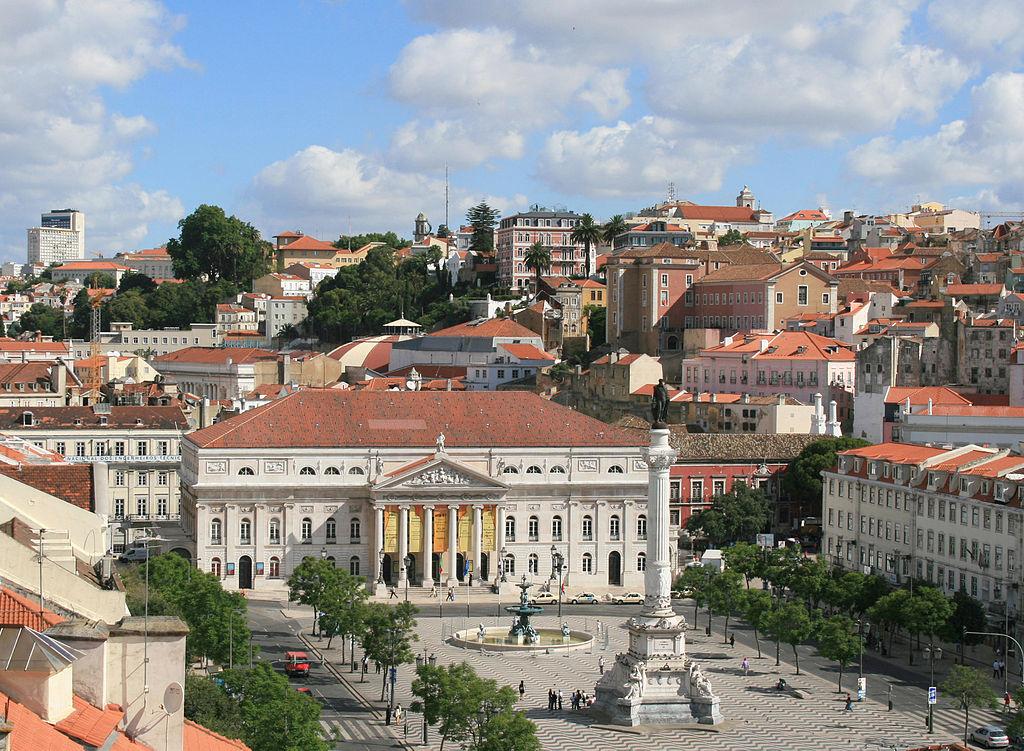 Vista panorâmica da cidade de Lisboa.