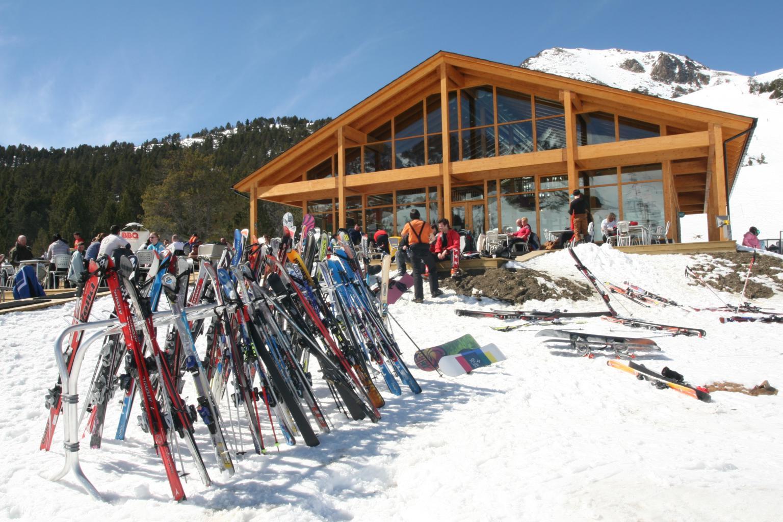 Estação de Soldeu el Tarter-Grandvalira em Andorra