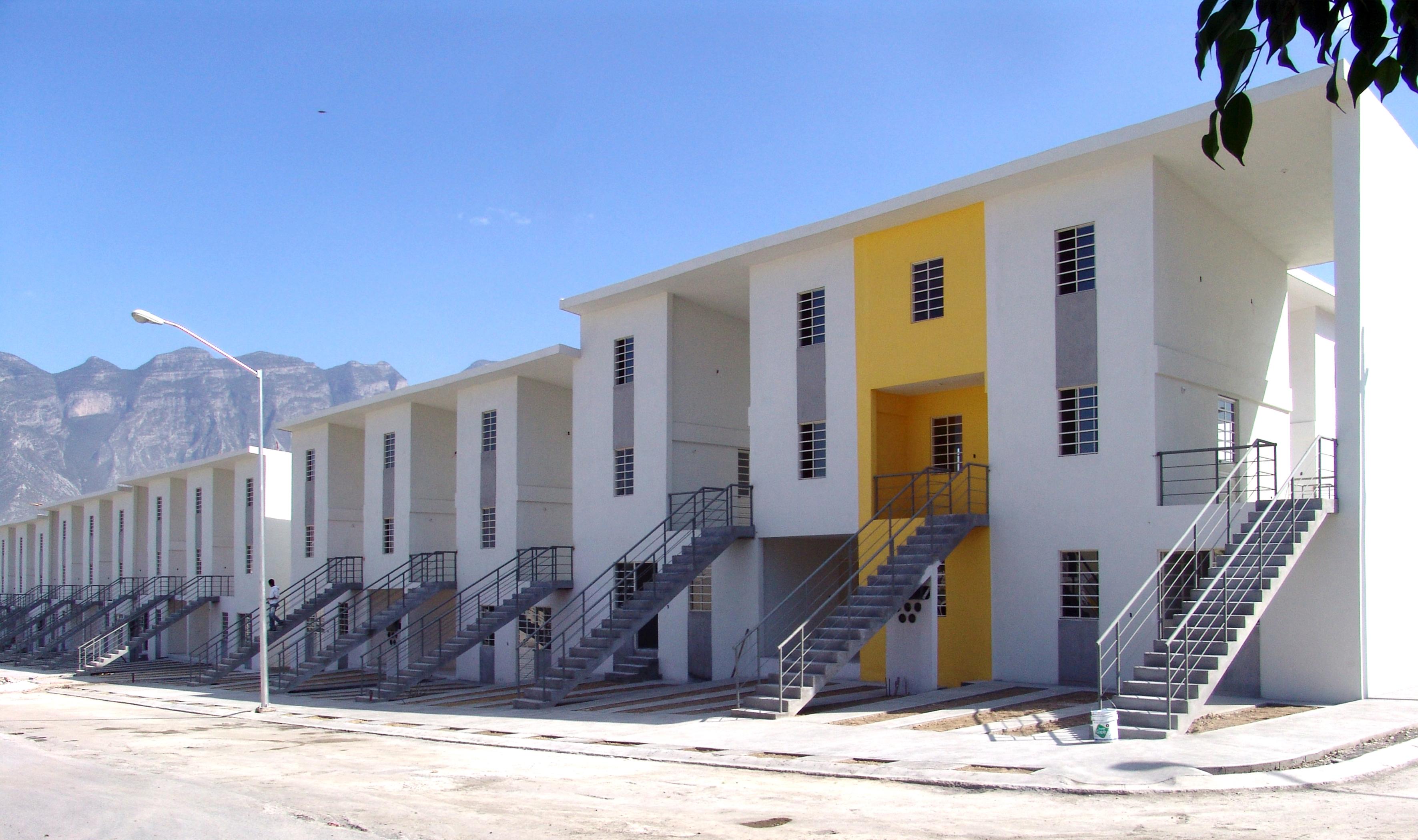 Projeto de habitação social de Monterrey (2010) – Monterrey, México
