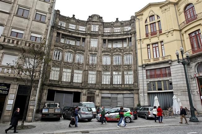 Antiga sede do FC Porto (Foto: Jornal de Notícias).
