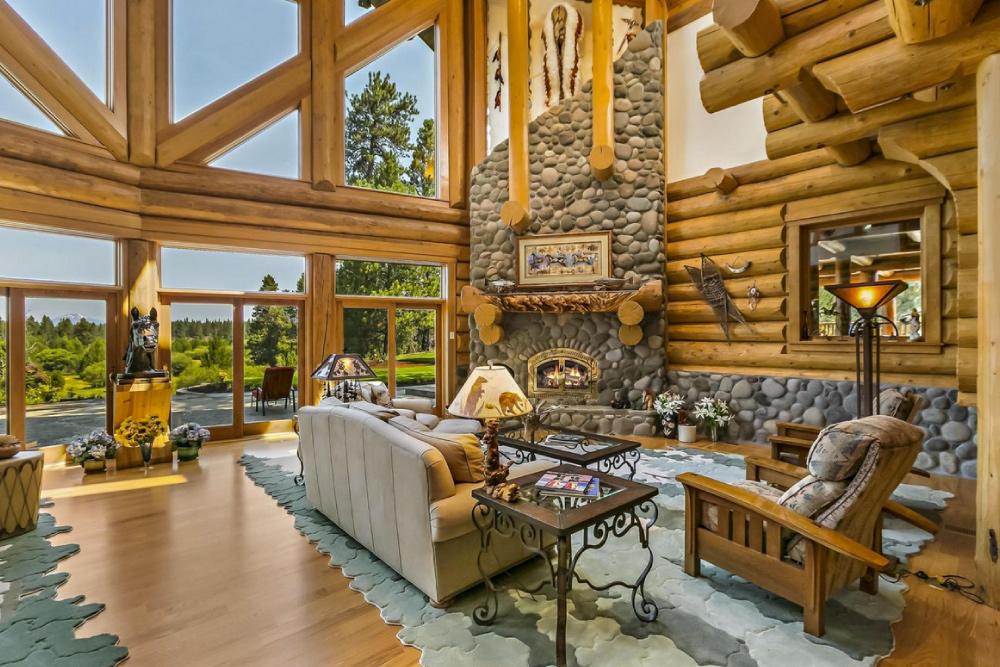 Ideias de decora o lareiras que far o com que te for House plans with fireplace in center of house