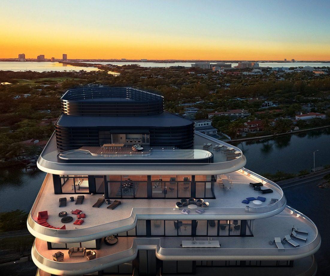 Casas De Sonho: A Penthouse Mais Cara De Miami Custa 50
