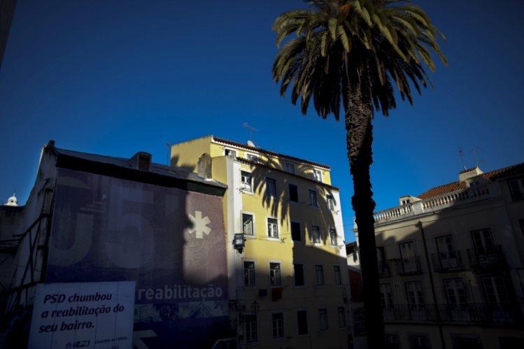 Aqui vai nascer o Museu Judaico de Lisboa, em Alfama (foto de 2011 do Público)