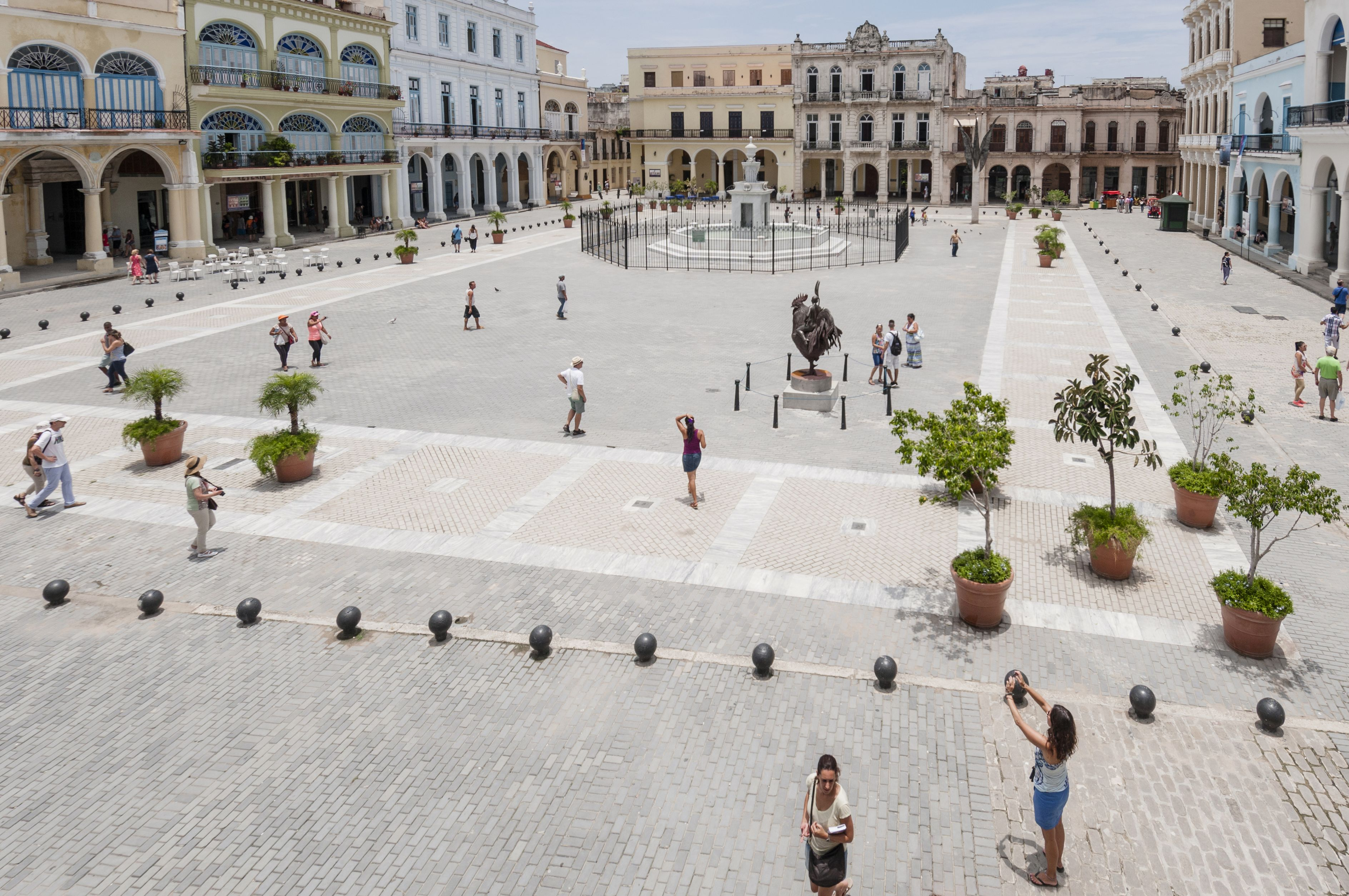 Vista panorâmica de Havana, Cuba.