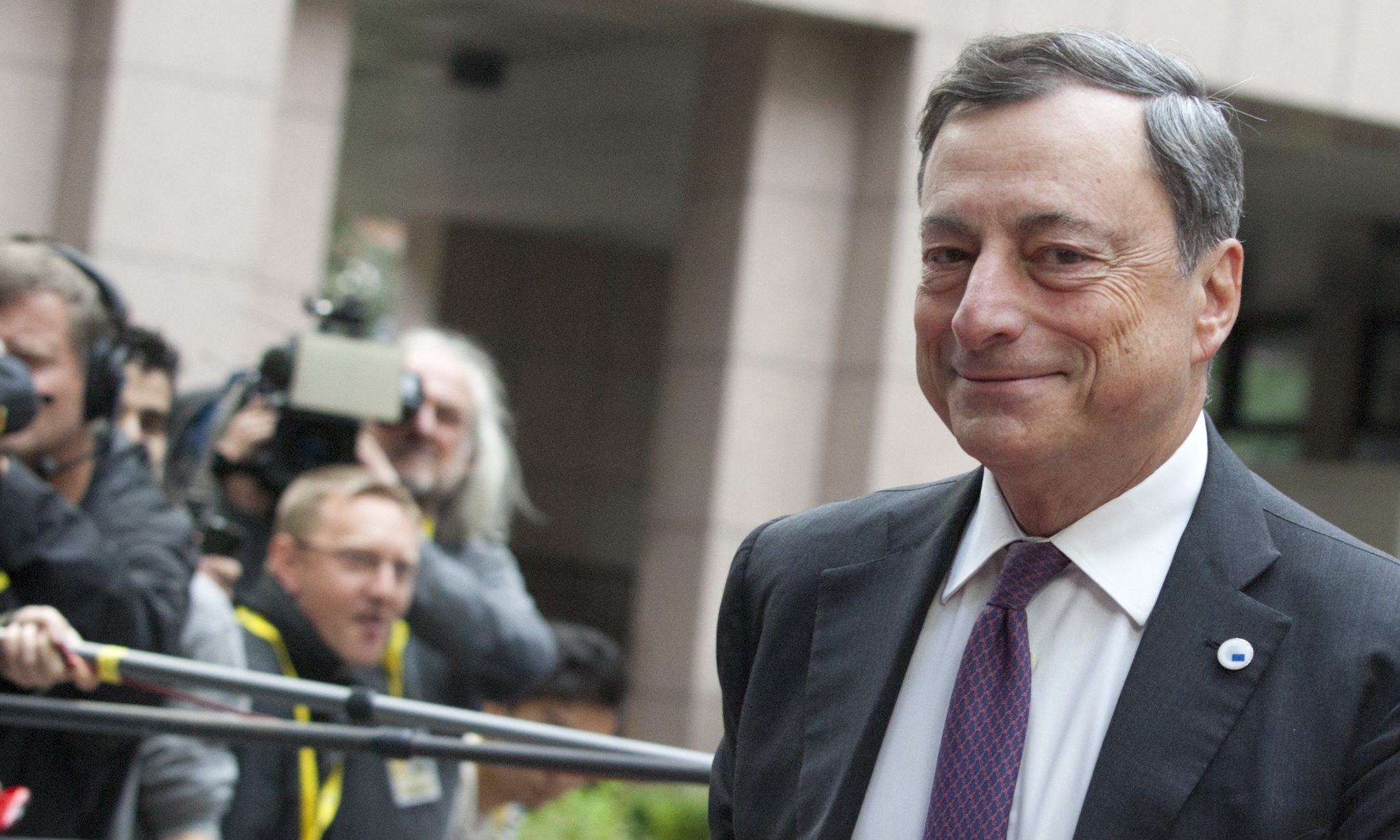 Mario Draghi, presidente do BCE.