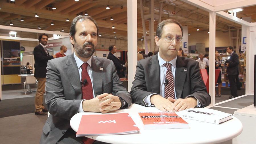 Nuno Ascensão e Eduardo Garcia e Costa, da KW Portugal.