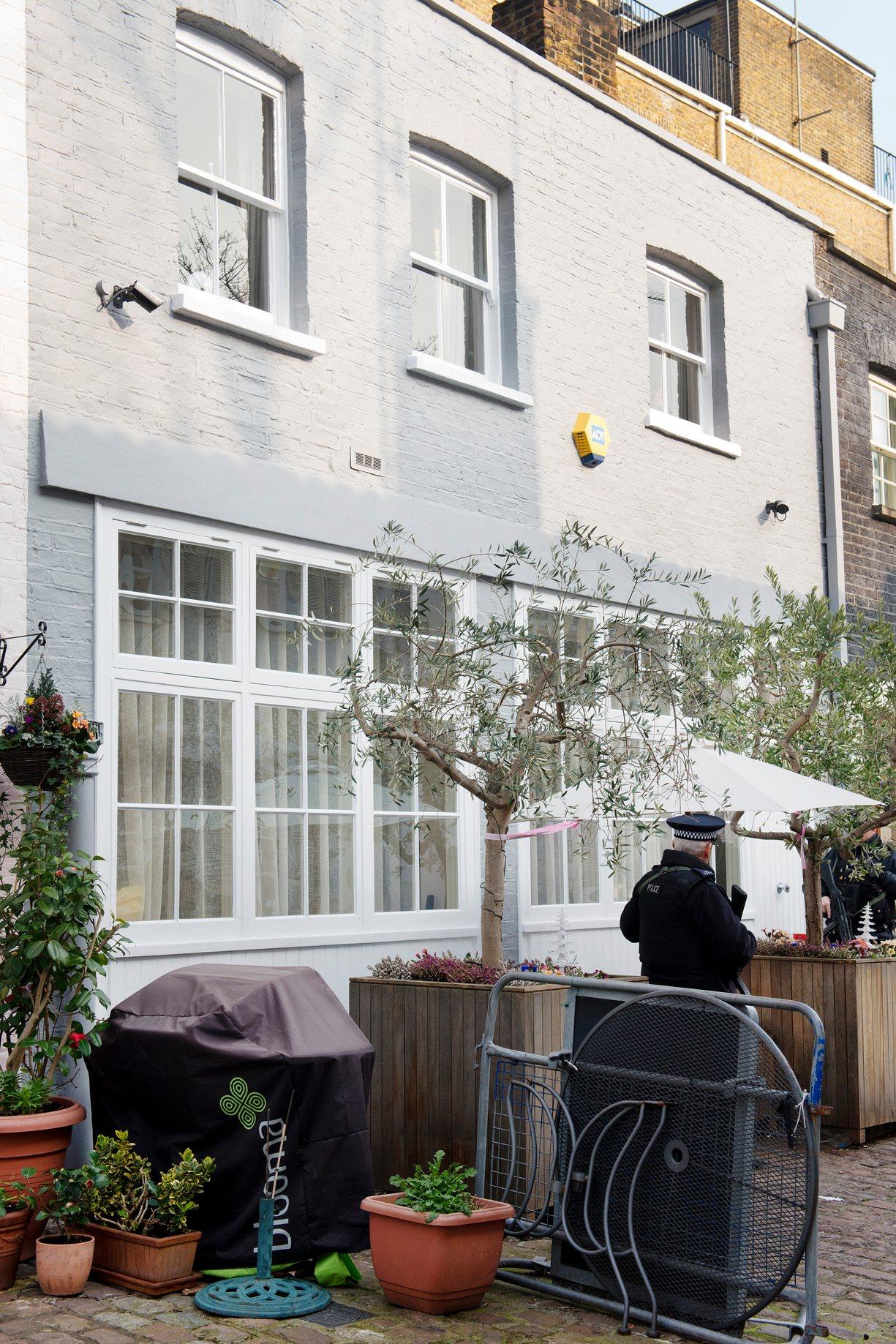 Propriedade em Londres (avaliada em 6 milhões de libras). The Guardian
