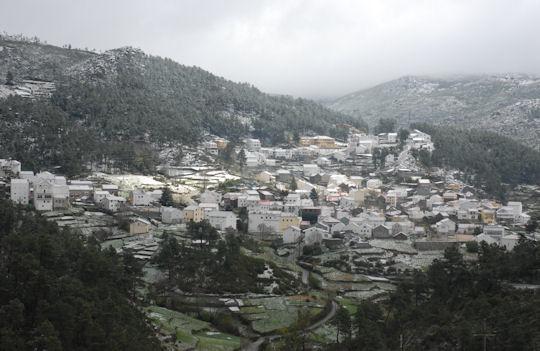Sabugueiro é a mais alta aldeia de Portugal (Foto: www.sabugueiro.pt).