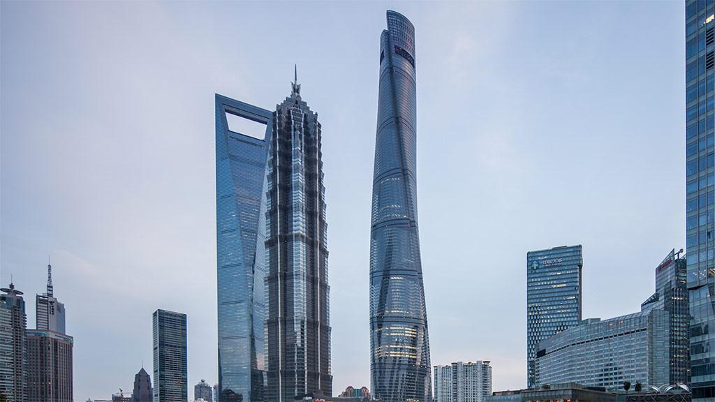 Melhor edifício do ano: Shanghai Tower (China).