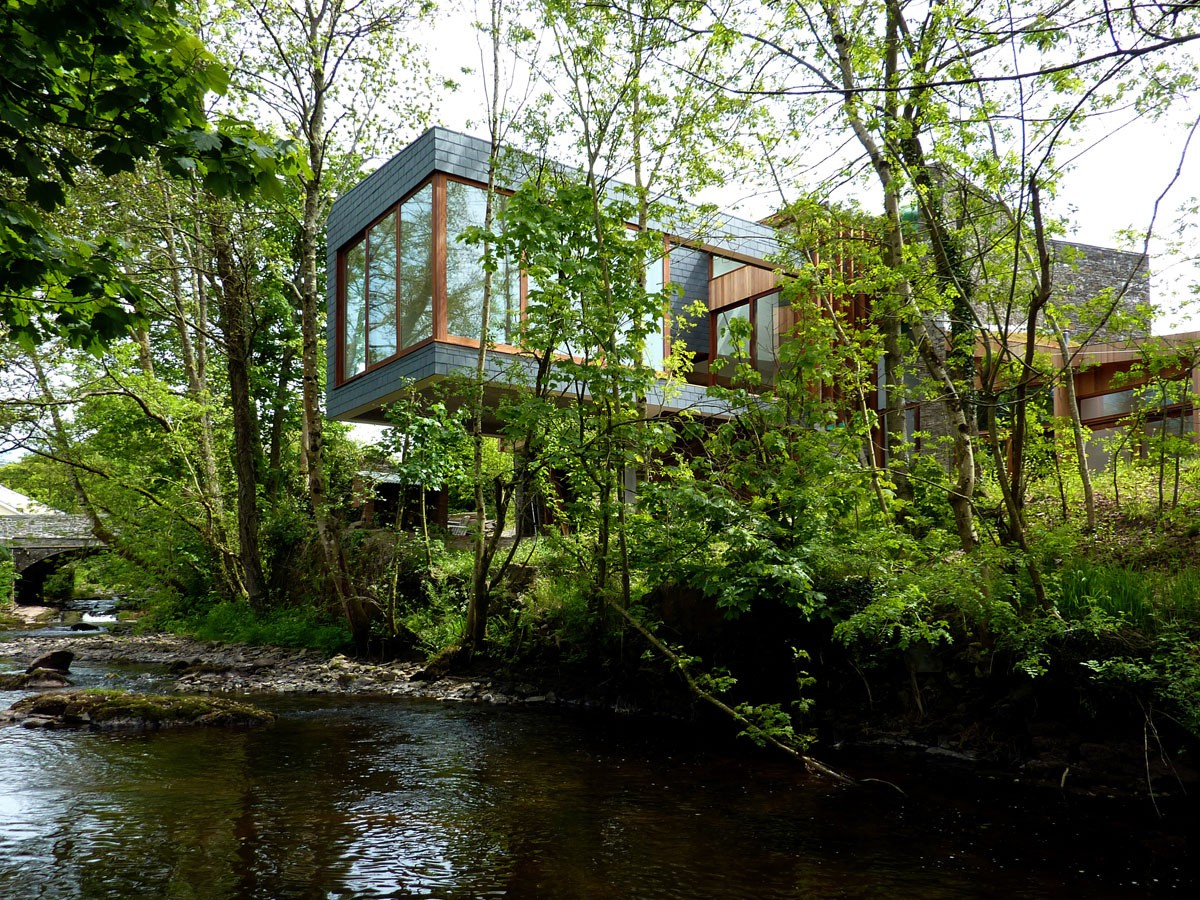 A casa está localizada no Parque Nacional de Brecon Beacons (Fotos: Tim Brotherton).