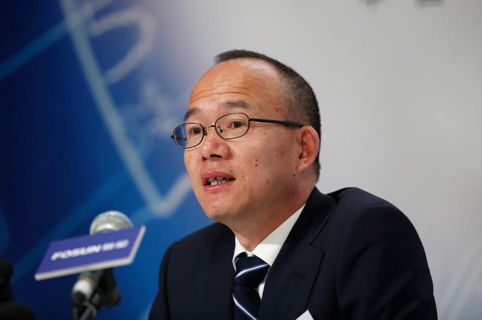 Guo Guangchang, presidente da Fosun, grupo chinês que controla a seguradora Fidelidade