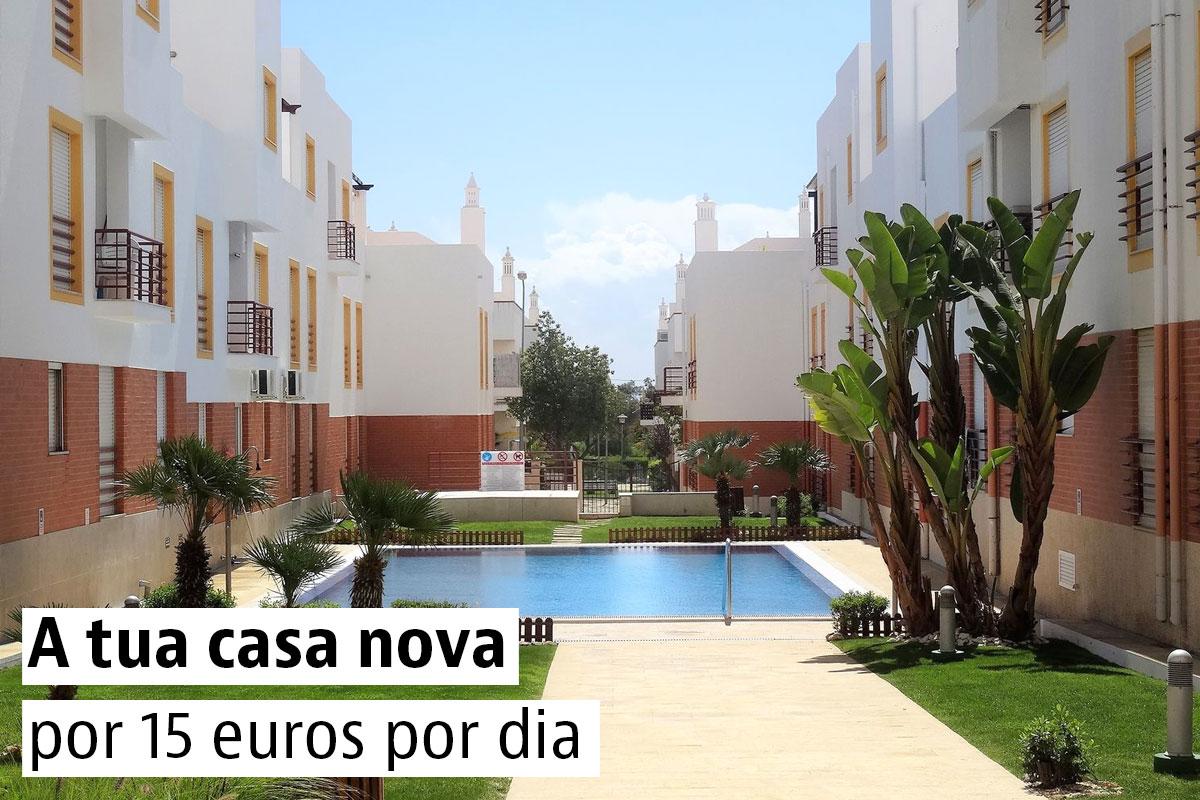 A tua casa nova por 15 euros por dia