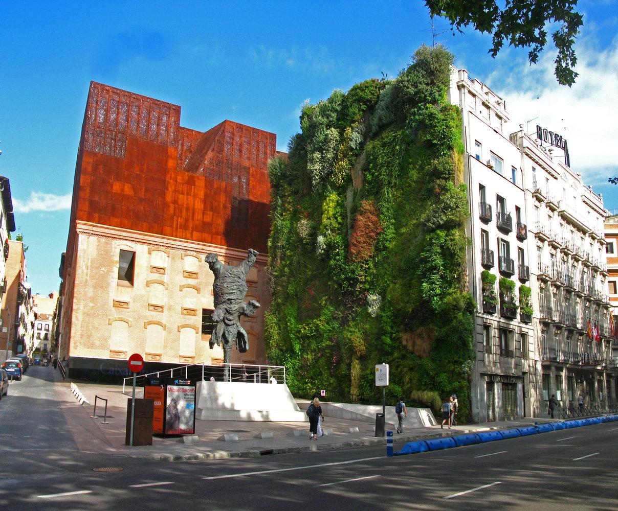 CaixaForum Madrid, em Madrid, Espanha.