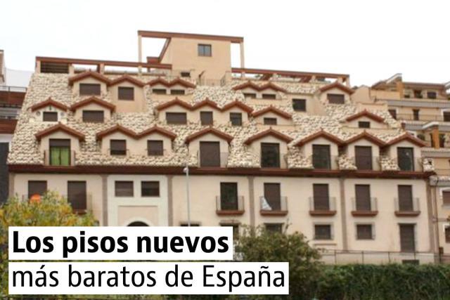 As casas novas mais baratas em Espanha